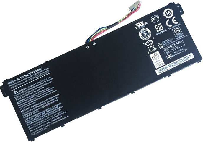 Battery for Acer AC14B18J laptop