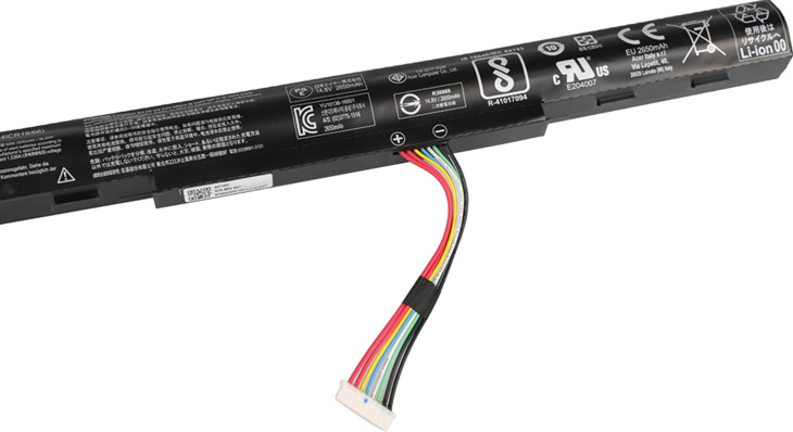 Battery for Acer Aspire F5-573T-53A7 laptop