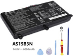 Battery for Acer Predator 17 G9-792-74T6
