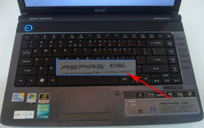 acer aspire serial number check